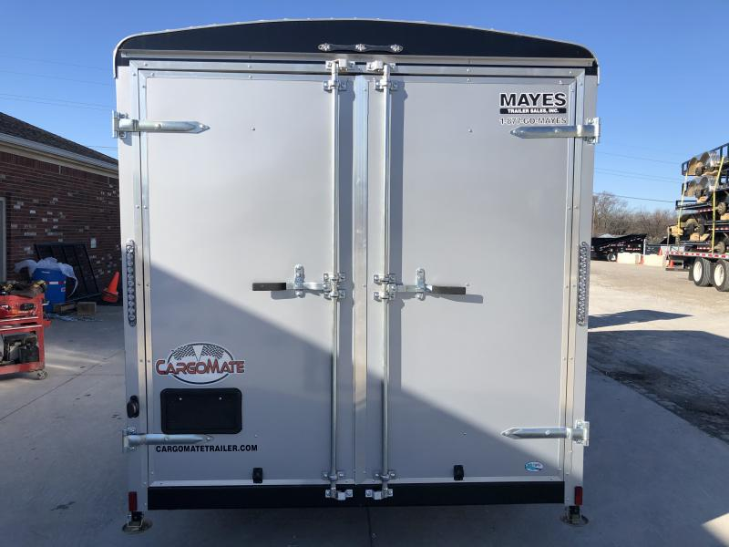 2020 7x14 TA Cargo Mate BL714TA2 Enclosed Cargo Trailer - Double Door with Dual Cambars - Torsion (GVW:  7000)