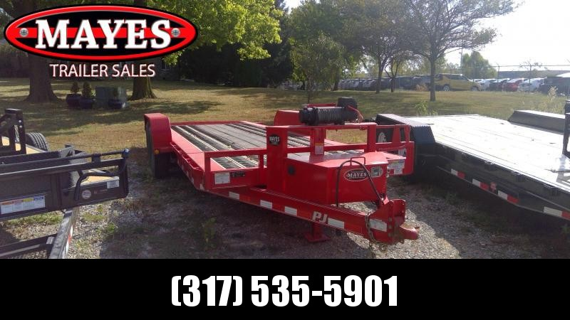 2018 83x20(16 Tilt + 4 Stationary) PJ Trailers TJ Equipment Tilt Trailer - (GVW: 16000) *USED*