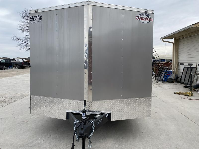 2020 8.5x24 TA Cargo Mate EHW8.524TA3 Enclosed Cargo Trailer - Ramp Door - Additional Floor Crossmembers - D-Rigns (GVW:  9800)