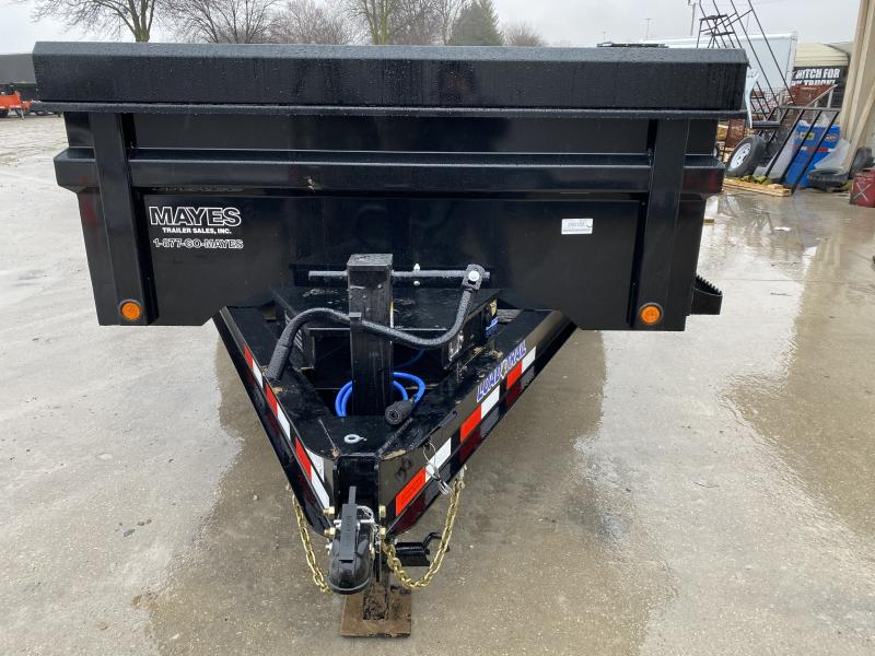 2020 83x14 TA Load Trail DT8314072 Dump Trailer - Scissor Hoist - 3 Way Gate - Slide In Ramps - Tarp Kit (GVW:  14000)