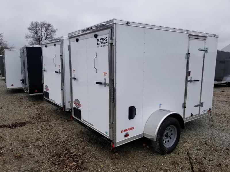 2020 5x10 SA Cargo Mate EHW510SA Enclosed Cargo Trailer - Side by Side Package - Ramp Door - 12 Inch Additional Height (GVW:  2990)