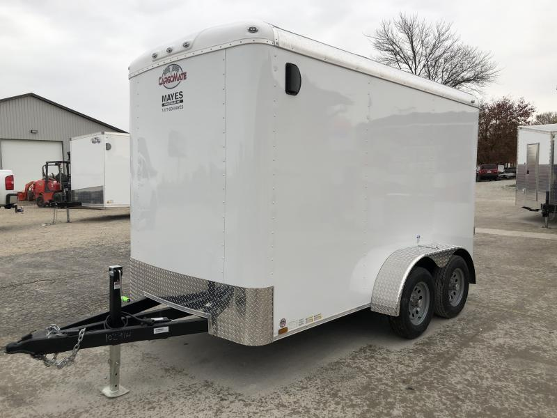 2020 6x12 TA Cargo Mate BL612TA2 Enclosed Cargo Trailer - Ramp Door - 6 Inch Additional Height - HD Tongue Jack - 54