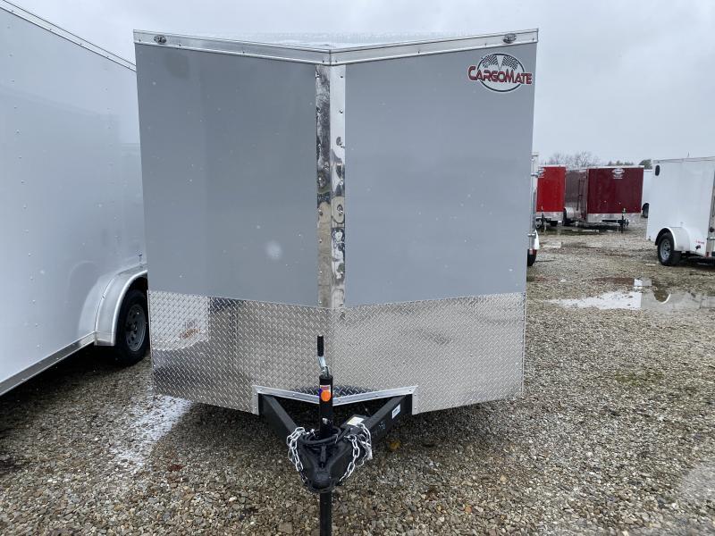 2021 7x12 SA Cargo Mate EHW712SA Enclosed Cargo Trailer - Ramp Door - .030 Metal Upgrade - Torsion Axle (GVW:  3500)