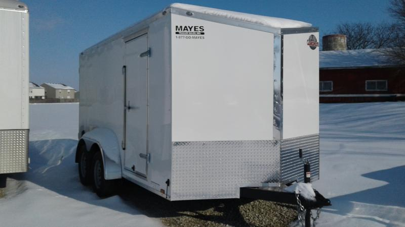 2020 7x14 TA Cargo Mate EHW714TA2 Enclosed Cargo Trailer - Ramp Door - E & V - Series Pkg #2 (GVW:  7000)