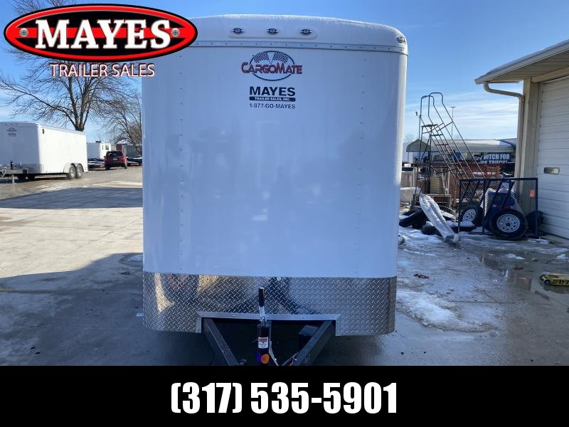 2021 6x12 TA Cargo Mate BL612TA2 Enclosed Cargo Trailer - Double Door with Dual Cambars - Torsion (GVW:  7000)