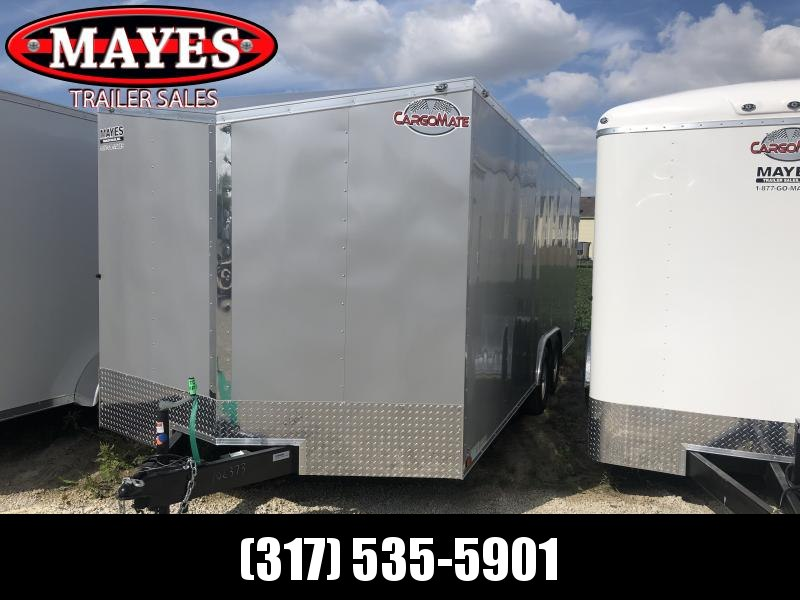 2020 8.5x20 TA Cargo Mate EHW8.520TA3 Enclosed Cargo Trailer - Ramp Door - .030 Metal Upgrade (GVW:  9800)