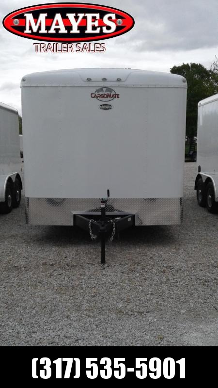2021 Cargo Mate BL816TA2 Enclosed Cargo Trailer 8x16 TA - Torsion Axles - Ramp Door - .080 Roof Cove (GVW:  7000)