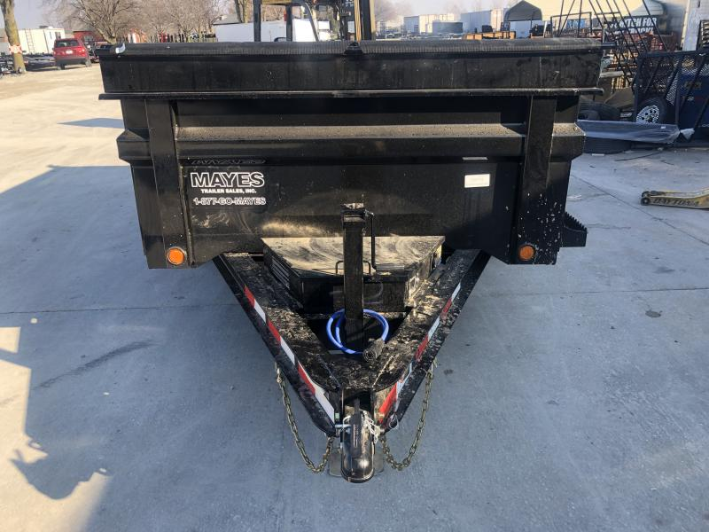 2020 72x12 TA Load Trail DT7212052 Dump Trailer - 3-Way Gate - Rear Slide In Ramps - Scissor Hoist (GVW:  9990)