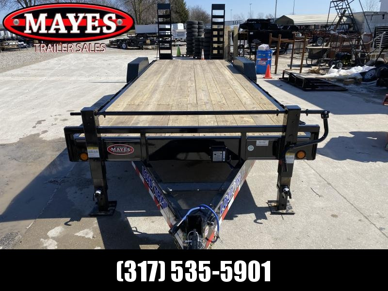 2020 83x24 (22+2) TA Load Trail CH8324072 Car / Racing Trailer - Dovetail - Fold Up Ramps - D-Rings - Rub Rail (GVW:  14000)