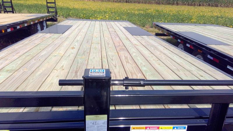 2020 96x22 Foot Tilt PJ Trailers T8222 Equipment Trailer - Full Deck Tilt - Deckover (GVW:  14000)