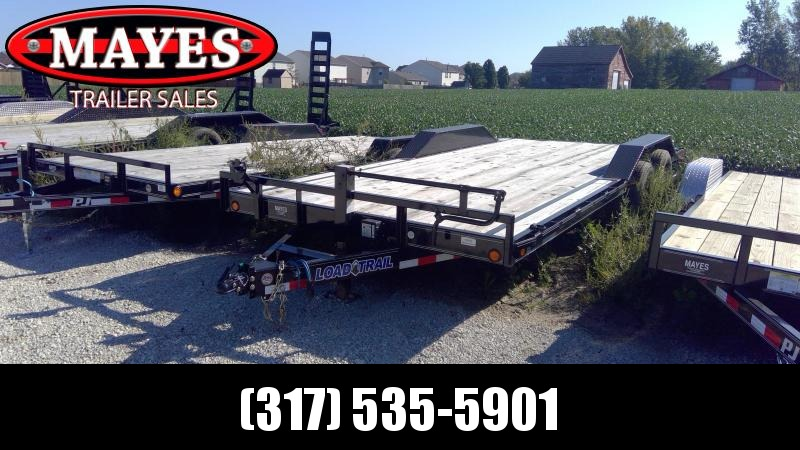 2019 83x20 (18+2) Load Trail CH8320052 Car / Racing Trailer - Rear Slide In Ramps - D-Rings (GVW:  9990)