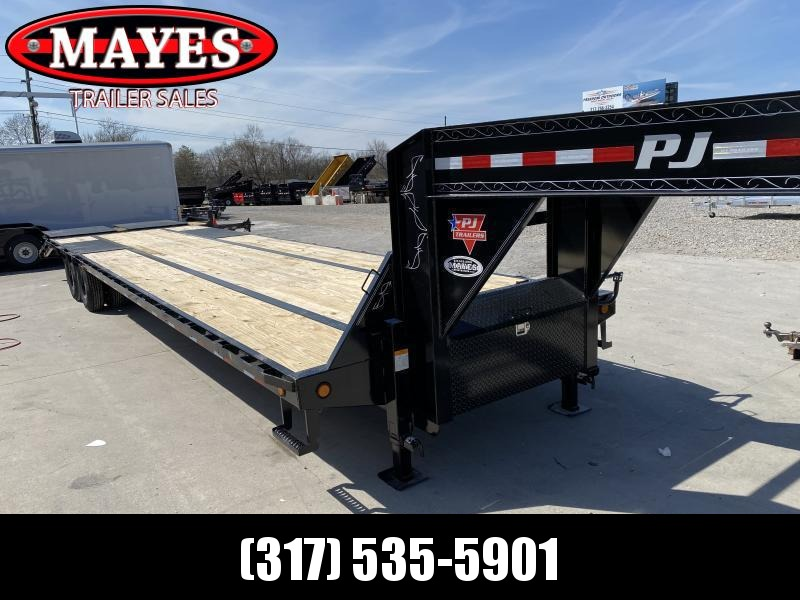 2020 102x36(31+5) PJ Trailers Low-Pro Flatdeck with Duals (LD) Flatbed Trailer - w/ Monster Ramps (GVW: 25000)