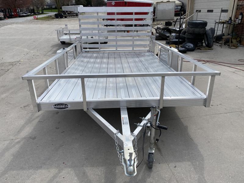 2020 7x12 SA Sport Haven AUT712D Utility Trailer - Aluminum Floor - Tailgate - Alum. Wheels (GVW:  2990)