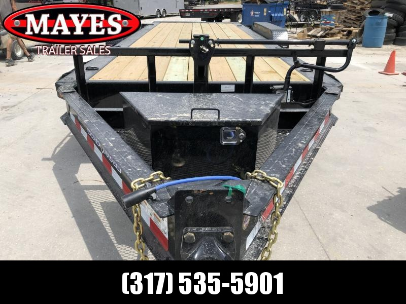 2019 83x20 (4+16) TA Tilt Load Trail TH8320082 Equipment Trailer - Pintle - Oil Bath Axles - D-Rngs (GVW:  16000)