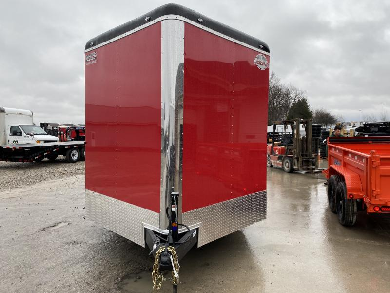 2021 102x28 TA Cargo Mate BL828TA5 Enclosed Cargo Trailer - Ramp Door - Side Door - Escape Door - 12 Inch Additional Height - HD Cage Package (GVW:  14000)