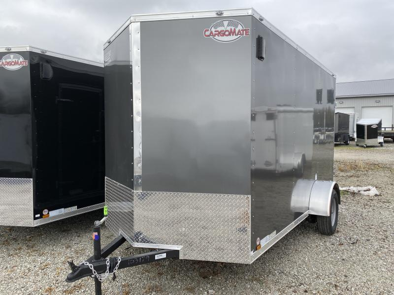 2020 6x12 SA Cargo Mate EHW612SA Enclosed Cargo Trailer - Ramp Door - Side by Side Pkg. - 6.5 Wide Body - 12 Inch Additional Height (GVW:  2990)