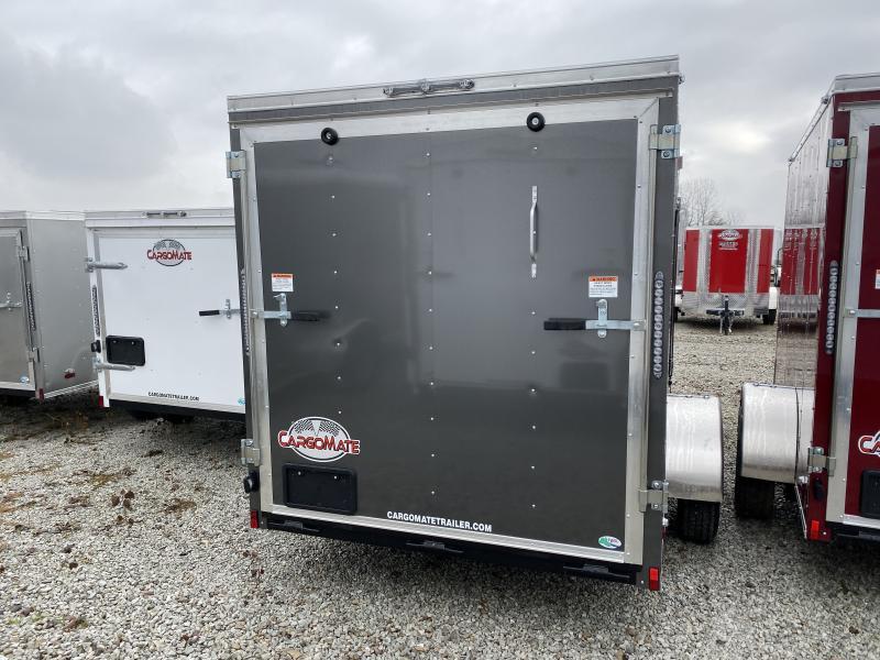 2020 6x12 SA Cargo Mate SS612SA Enclosed Cargo Trailer - Ramp Door - .030 Metal Upgrade - 6 Inch Additional Height (GVW:  2990)