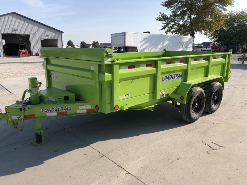 2020 83x14 TA Load Trail DT8314072 Dump Trailer - Scissor Hoist - Ramps - D-Rings (GVW:  14000)