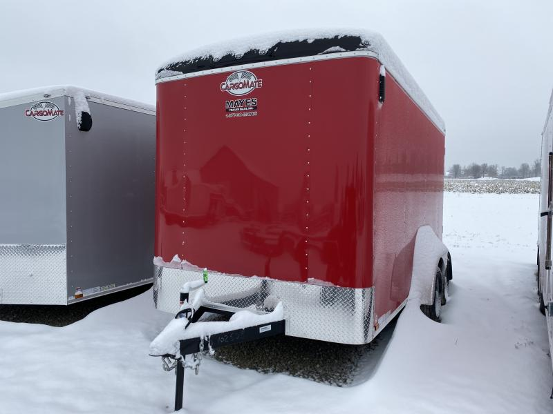 2020 7x14 TA Cargo Mate BL714TA2 Enclosed Cargo Trailer- Ramp Door - 6 Inch Additional Height (GVW:  7000)