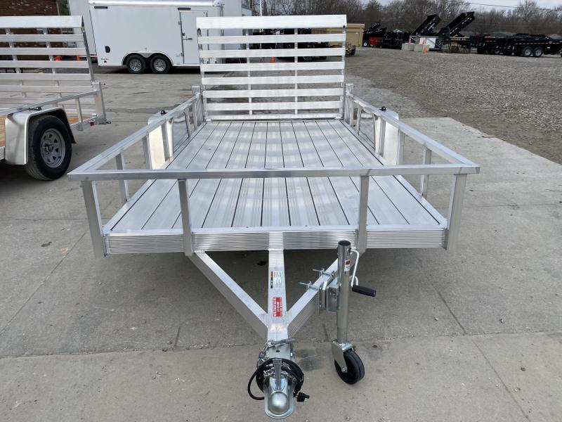 2020 6x12 SA Sport Haven AUT612D Utility Trailer - Tailgate - Aluminum Floor - Alum. Wheels (GVW:  2990)