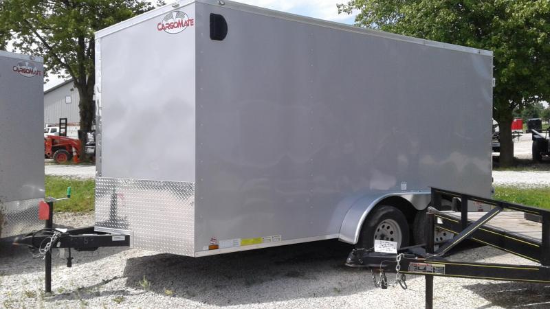 2019 7x14 TA Cargo Mate EHW714TA2 Enclosed Cargo Trailer - 6