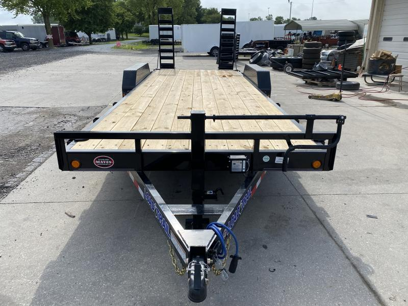 2020 83x22(20+2' Dovetail) Load Trail CH22 Equipment Trailer - w/ 5' Stand-up Ramps (GVW: 14000)