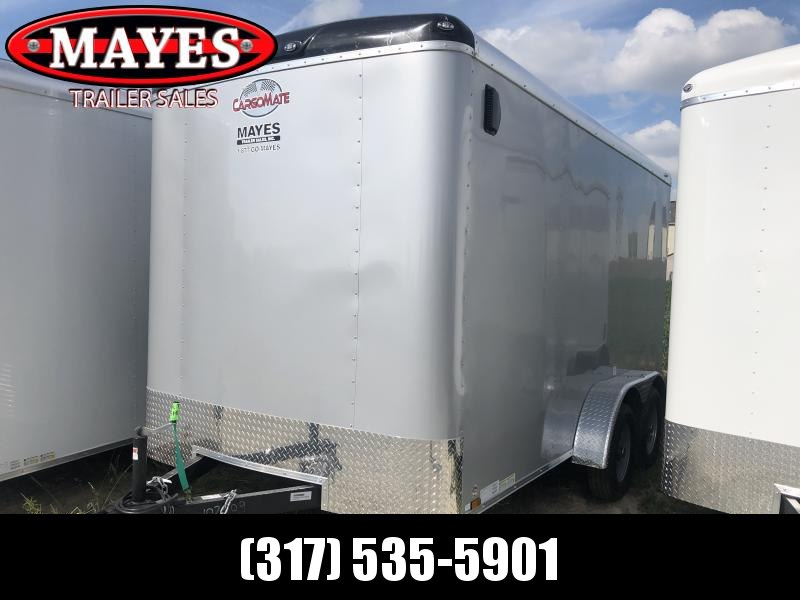 2020 7x14 TA Cargo Mate BL714TA2 Enclosed Cargo Trailer - Ramp Door - 6 Inch Additional Height - Torsion (GVW:  7000)