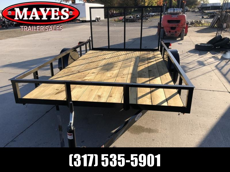 2020 82x12 SA AMO US121 Utility Trailer - Treated Wood Floor - Tailgate (GVW:  2990)