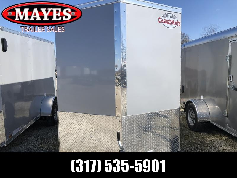 2020 5x10 SA Cargo Mate EHW510SA Enclosed Cargo Trailer - Ramp Door - Side by Side Package - 5.5 Wide Body Design - .030 Metal Upgrade - 12 Inch Additional Height (GVW:  2990)