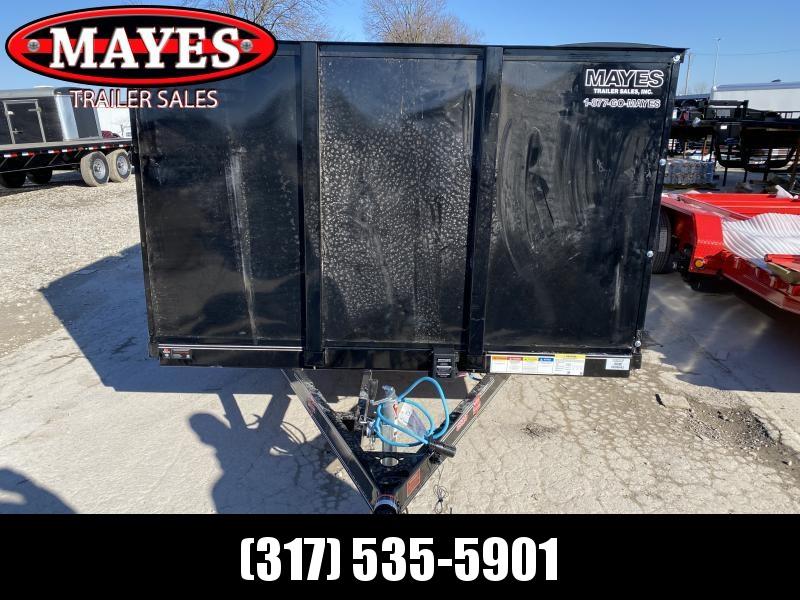 2020 83x20 (18+2) TA PJ Trailers UL202 Utility Trailer - Dovetail - HD Fold Up Gate - 4 Foot Solid Metal Sides - 4 Foot Side Gate (GVW:  9899)