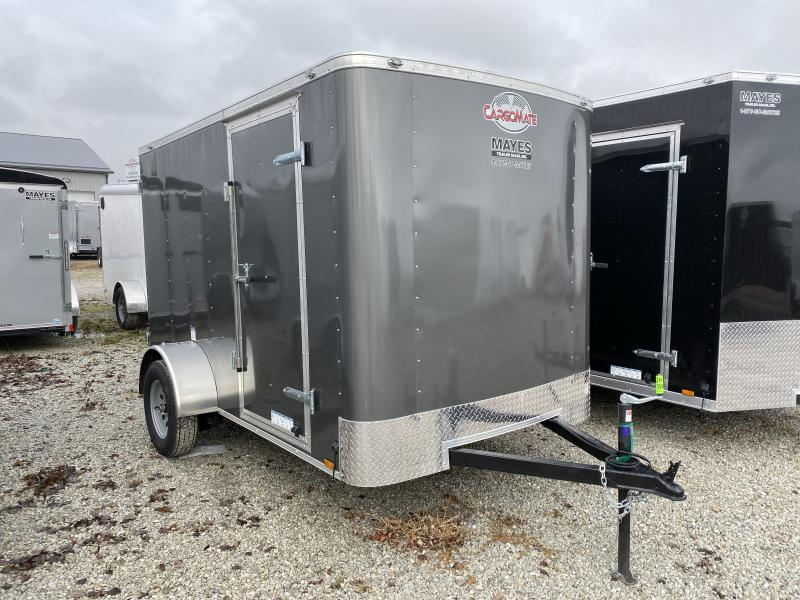2020 6x10 SA Cargo Mate SS610SA Enclosed Cargo Trailer - Ramp Door - .030 Metal Upgrade - 6 Inch Additional Height (GVW:  2990)