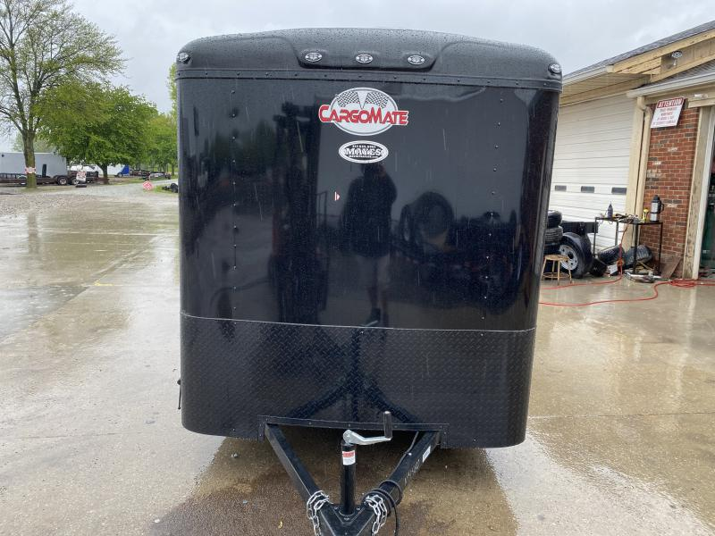 2021 Cargo Mate BL612SA Enclosed Cargo Trailer 6x12 SA - Torsion - Ramp Door - .080 Roof Cove - Black Out Package (GVW:  2990)