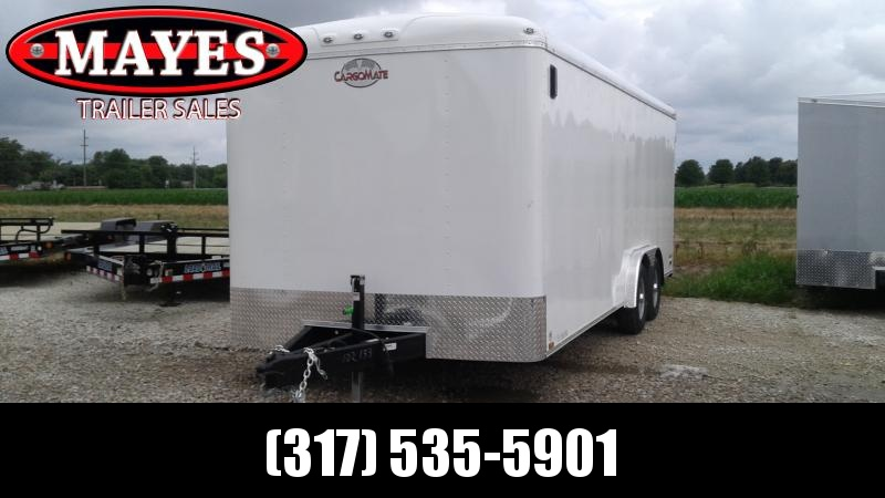 2020 Cargo Mate 8x20 BL820TA3 Commercial Cage and Frame Upgrade Enclosed Cargo Trailer