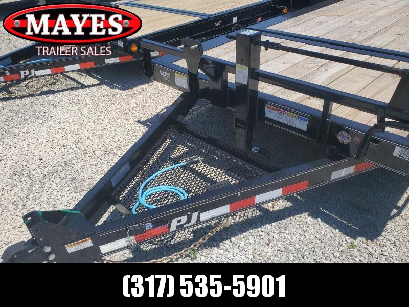 2020 83X20  (16+4) PJ Trailers  HD Equipment Tilt - Oil Bath Axles -Torsion (GVW:  16000)