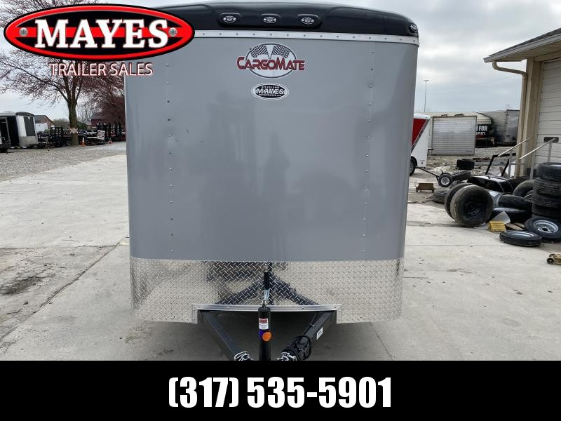 2020 6x12 Cargo Mate BL612SA Enclosed Cargo Trailer - Diamond Ice (RD)(GVW: 2990) *Torsion Axle*