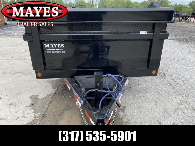 "2020 83x14 Load Trail DT14 (6""Channel)  Dump Trailer - (Black Powdercoat)(Split/Spreader Gate)(Tarp Kit)(Ramps)(GVW: 14000)"