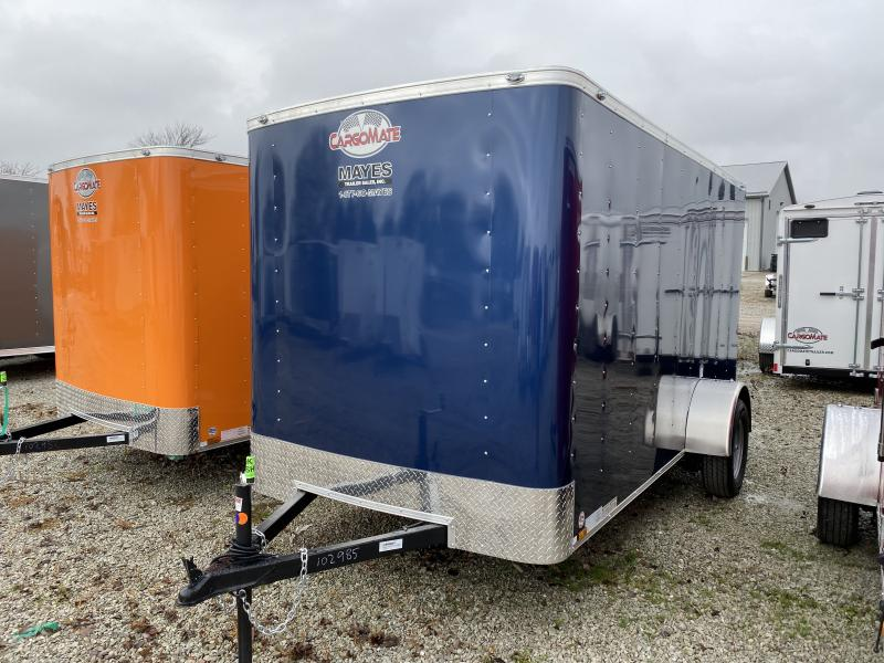 2020 6x12 SA Cargo Mate SS612SA Enclosed Cargo Trailer - .030 Metal Upgrade - Ramp Door (GVW:   2990)