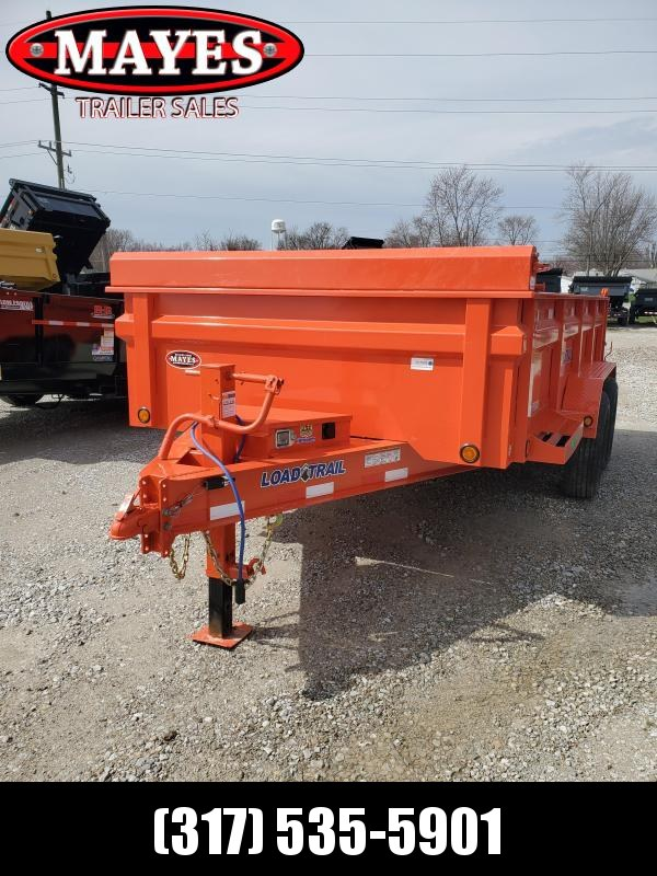 2020 83x14 TA Load Trail DT8314072 Dump Trailer - 24 Inch Dump Sides - 3-Way Gate - Scissor Hoist - Tool Box - Spare Tire MOUNT ONLY (GVW:  14000)
