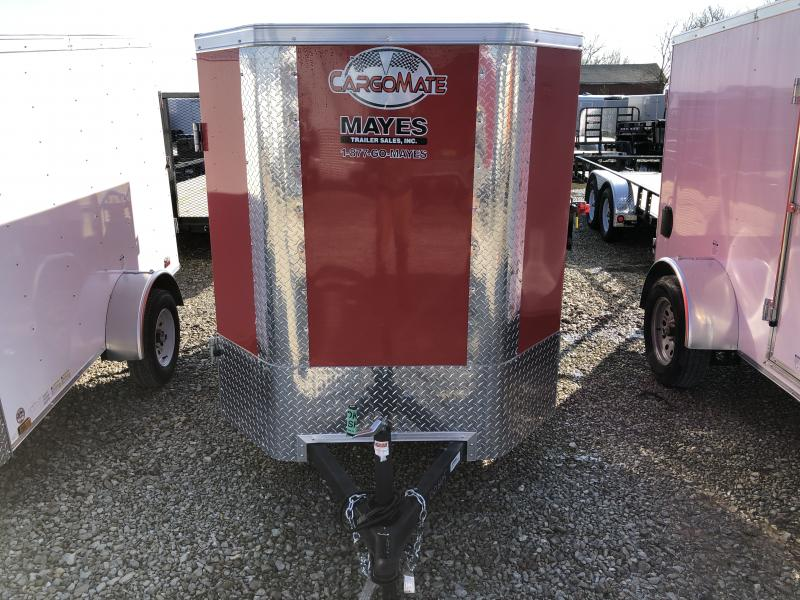 2020 5x8 SA Cargo Mate EHW58SA Enclosed Cargo Trailer - Double Door - Tapered Nose (GVW:  2990)