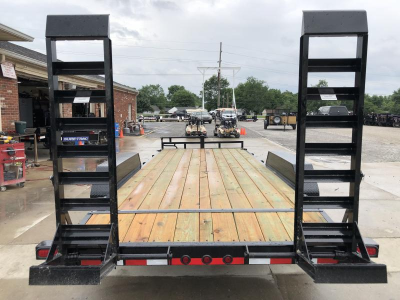 2019 83x20 (18+2) Load Trail CH8320072 Car / Racing Trailer - Fold Up Ramps - D-Rings (GVW:  14000)