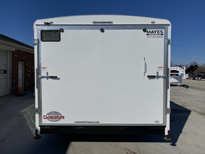 2021 102x22 TA Cargo Mate BL822TA3 Enclosed Cargo Trailer - Ramp Door - 102 Inch Wide Body Design - HD Cage Package - Torsion - HD Jack Upgrade - Upgrade to 8 Bolt 16 Inch Tires and Wheels (GVW:  9800)