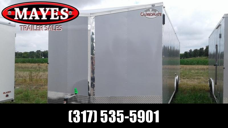 2020 8.5x28 TA Cargo Mate EHW8.528TA3 Enclosed Cargo Trailer - Ramp Door - Slant V-Nose (GVW:  9800)