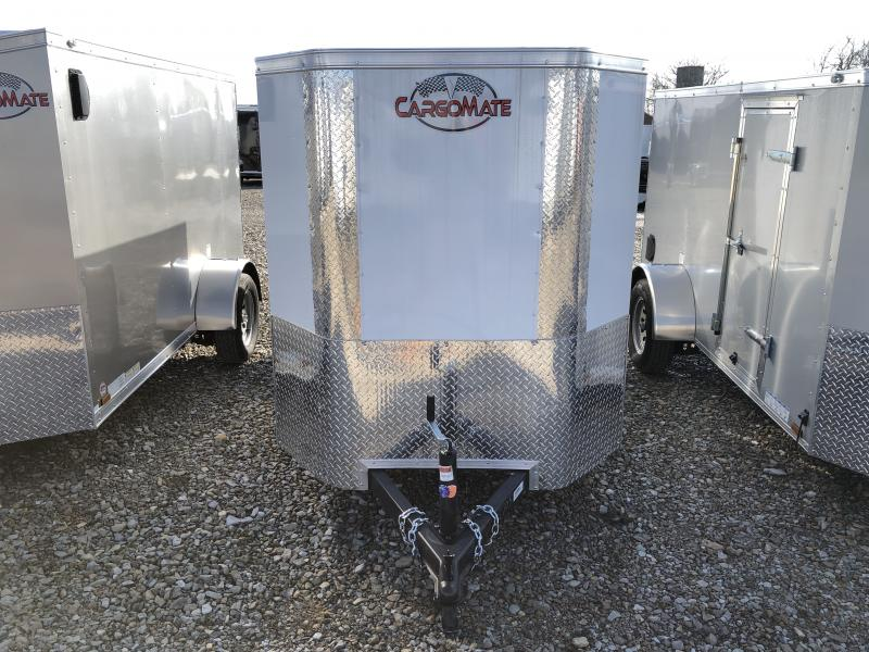 2020 5x10 SA Cargo Mate EHW510SA Enclosed Cargo Trailer - Ramp Door - E&V Series Pkg #2 - Slant V-Nose (GVW:  2990)