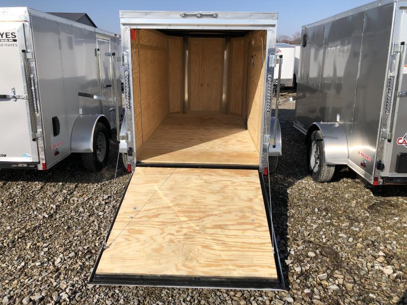 2020 5x10 SA Cargo Mate EHW510SA Enclosed Cargo Trailer - Ramp Door - E&V Series Pkg #2 - Slant V-Nose (GVW:  2990)