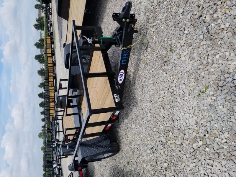 2020 5x12 SA Tilt American Manufacturing Operations (AMO) UV121 Utility Trailer - Drop Axle - D-Rings (GVW:  4999)