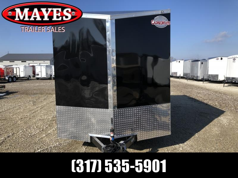 2020 7x14 TA Cargo Mate EHW714TA2 Enclosed Cargo Trailer - .030 Metal Upgrade - Side By Side Package - 12 Inch Additional Height - Slant V-Nose - Ramp Door (GVW:  7000)
