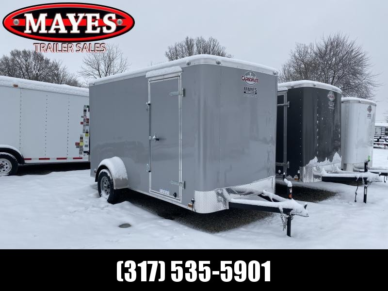 2020 6x12 SA Cargo Mate SS612SA Enclosed Cargo Trailer - Ramp Door - 12 Inch Additional Height (GVW:  2990)