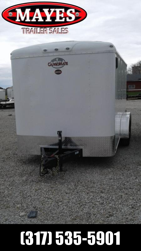 2021 Cargo Mate BL714TA3 Enclosed Cargo Trailer - 7x14 TA - Double Door with Dual Cambars - Side Door - Torsion (GVW:  9800)