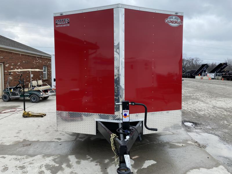 2021 102x16 TA Cargo Mate EHW816TA6 Enclosed Cargo Trailer - Ramp Door - HD Cage Package - E-Tracking - Torsion (GVW:  16000)