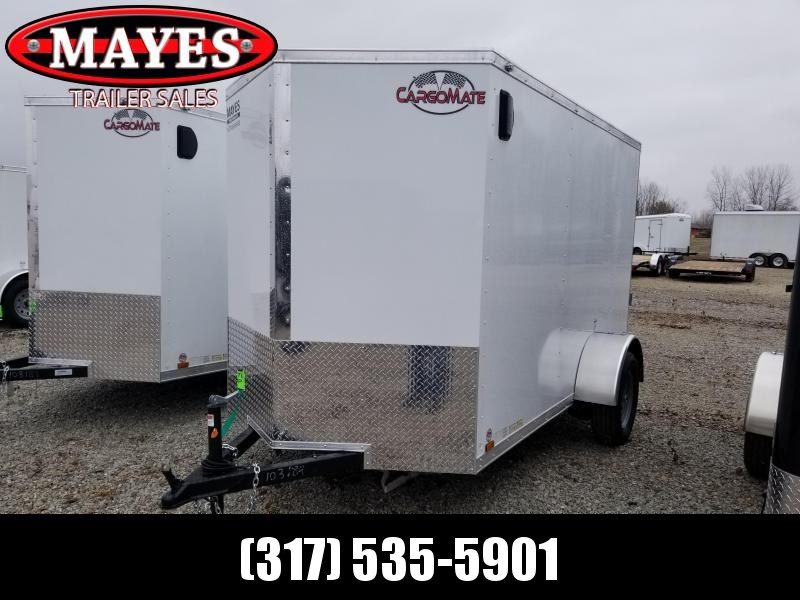2020 5x10 SA Cargo Mate EHW510SA Enclosed Cargo Trailer - Side by Side Package - 12 Inch Additional Height - Ramp Door (GVW:  2990)